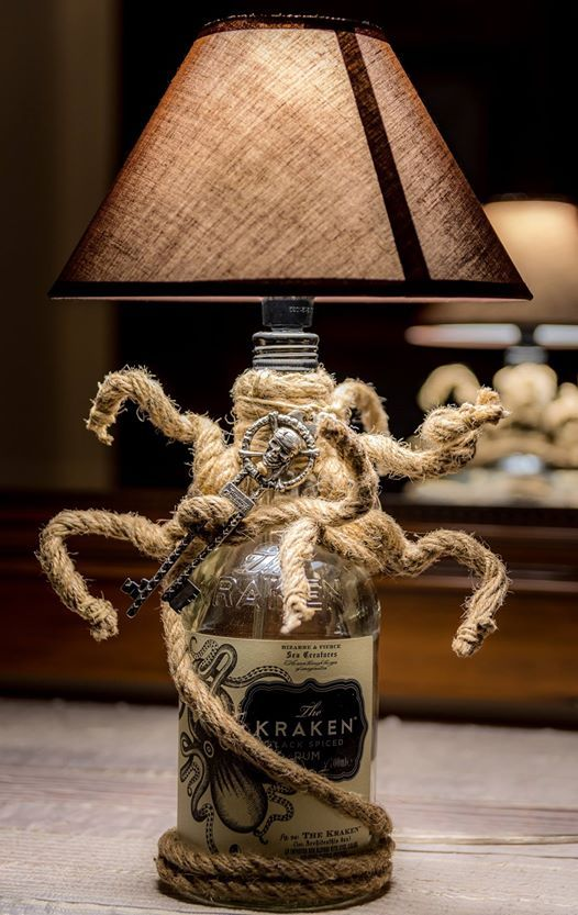 kraken rum light...pirates of caribean key