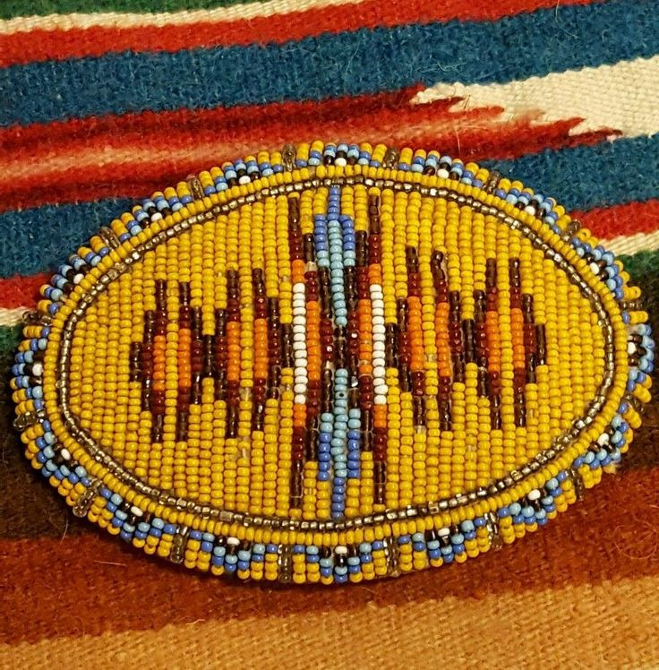 Vintage Native american beaded belt buckle – eBay find of the week