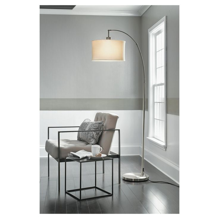 arc floor lamp threshold
