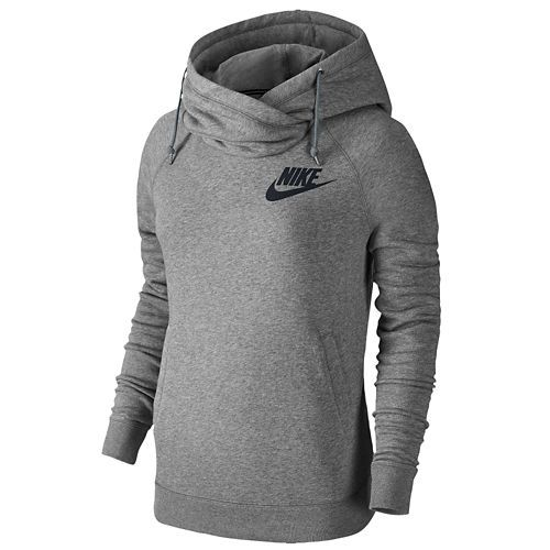 Nike Rally Funnel Neck Hoodie - Women's - Size Small | CHAMPS