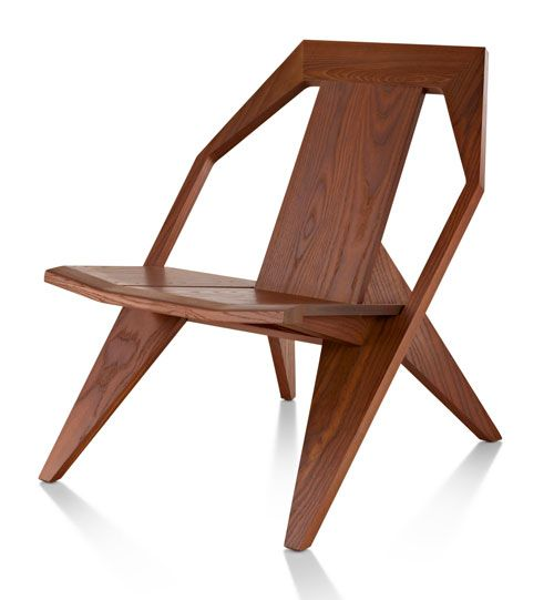This is an interesting variant on Adirondack according to some but just looks good to me. Get Out! Medici Chair by Konstantin Grcic for Mattiazzi