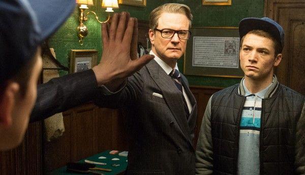 KINGSMAN: SECRET SERVICE | Colin Firth e Taron Egerton presentano il film a Roma | PHOTO GALLERY