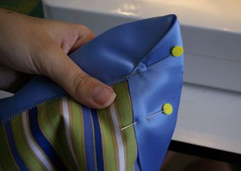 How to do silk binding on baby blanket