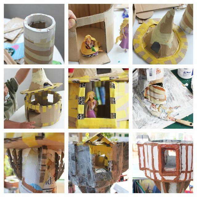 Mamà recicla: La torre de la Rapunzell / La torre de la Rapunzel...