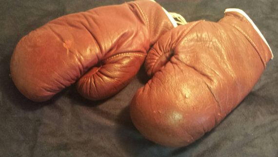 Check out this item in my Etsy shop https://www.etsy.com/ca/listing/247768996/treasury-listvintage-boxing-gloves