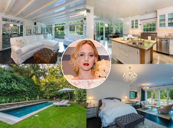 Jennifer Lawrence Pays More Than $7 Million for L.A. Bachelorette Pad: See Inside Photos!  Jennifer Lawrence, House