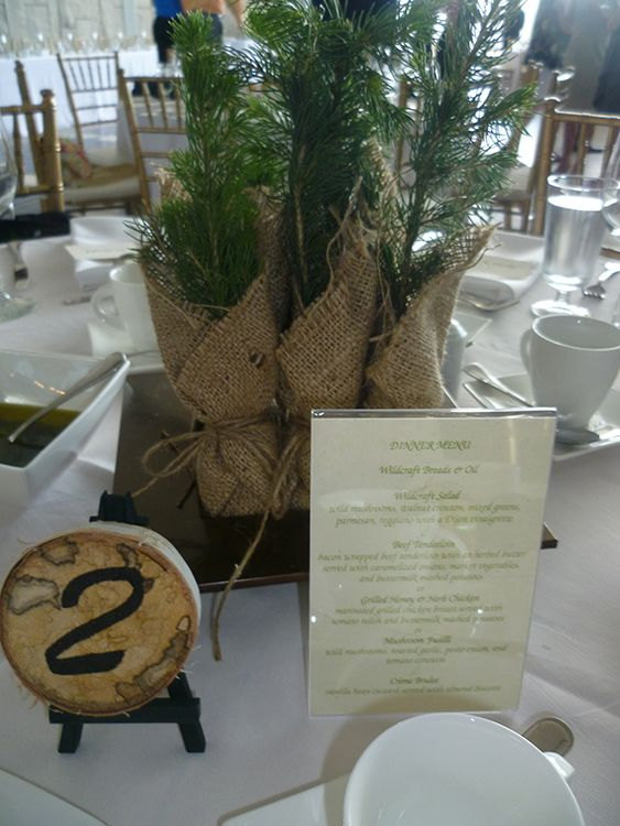 An eco-friendly wedding at the Waterloo Region Museum, done by Events by Keenda.