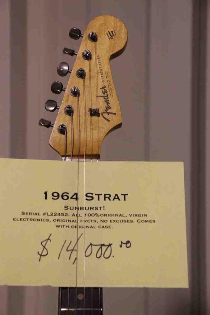 1964 fender stratocaster price tag