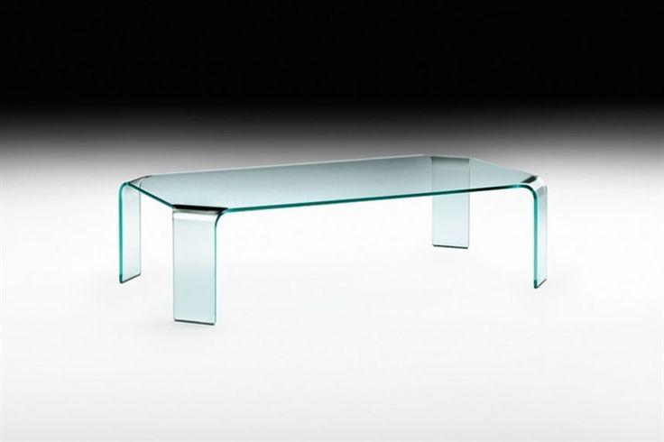 GlazenDesignTafel.nl | Glazen salontafel Ragnetto | Designer: Vittorio Livi | FIAM | Italian design | glass table | vidre glastoepassingen, Leiden
