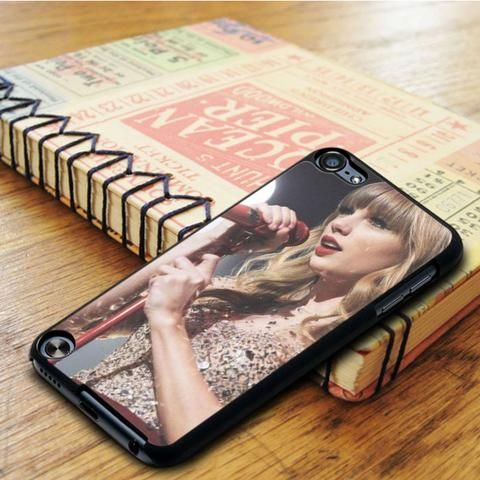 Taylor Swift Singer Red iPod 6 Touch Case