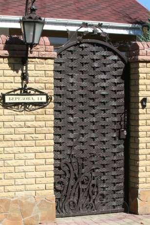Кованые ворота, ограждения, балконы - изготовление, установка в Николаеве - изображение 2