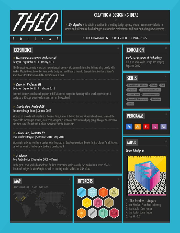 28 best First Job images on Pinterest Resume design, Resume and - artist resumes