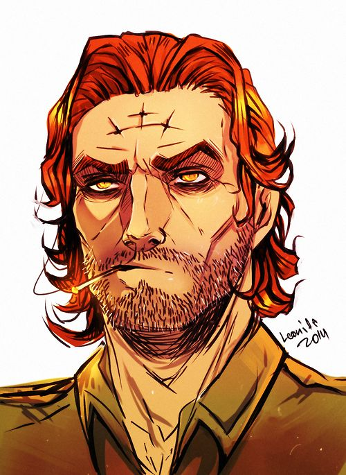 I have used Bigby from Wolf among us as i want my detective to look like him a rough looking man as it will make him looked experienced as if he is a few days from retirement