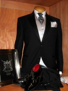 Outfit your groom in the finest tuxedo from Frank DeRito Fine Men's Clothier.