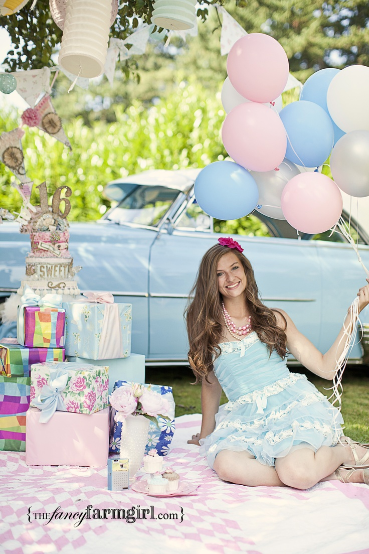 Have a photo shoot of your daughter before her big day and display the photos at her party #sweet16 #sweetsixteen #girlbirthday