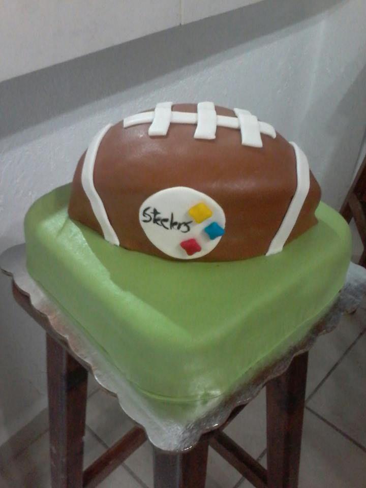 pastel futbol americano