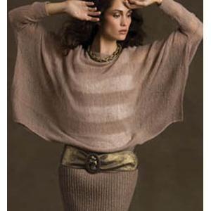 Ladies' Sheer Sophistication Ensemble Knitting Pattern in SUPERIOR & ZARA by Filatura Di Crosa