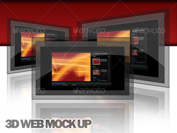 3D Web Display Mock Up