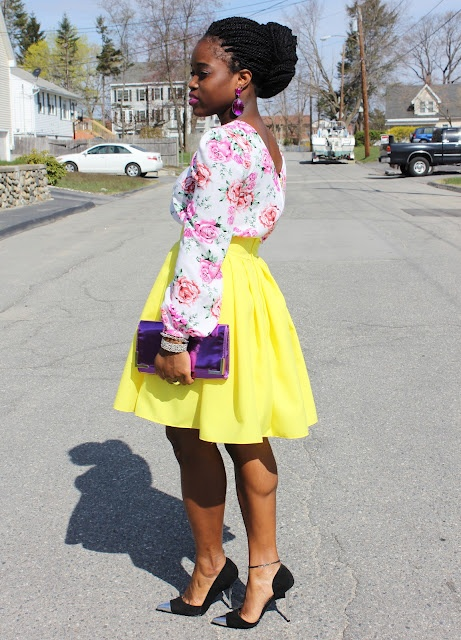 Francisca: Mi Style, Full Skirts, Style Inspiration, Fashion Spr, Yellow Skirts, Fashion Inspiration, Girly Girl, Black Girls, My Style