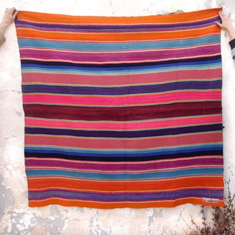 Bolivian Blankets - stripey color inspiration