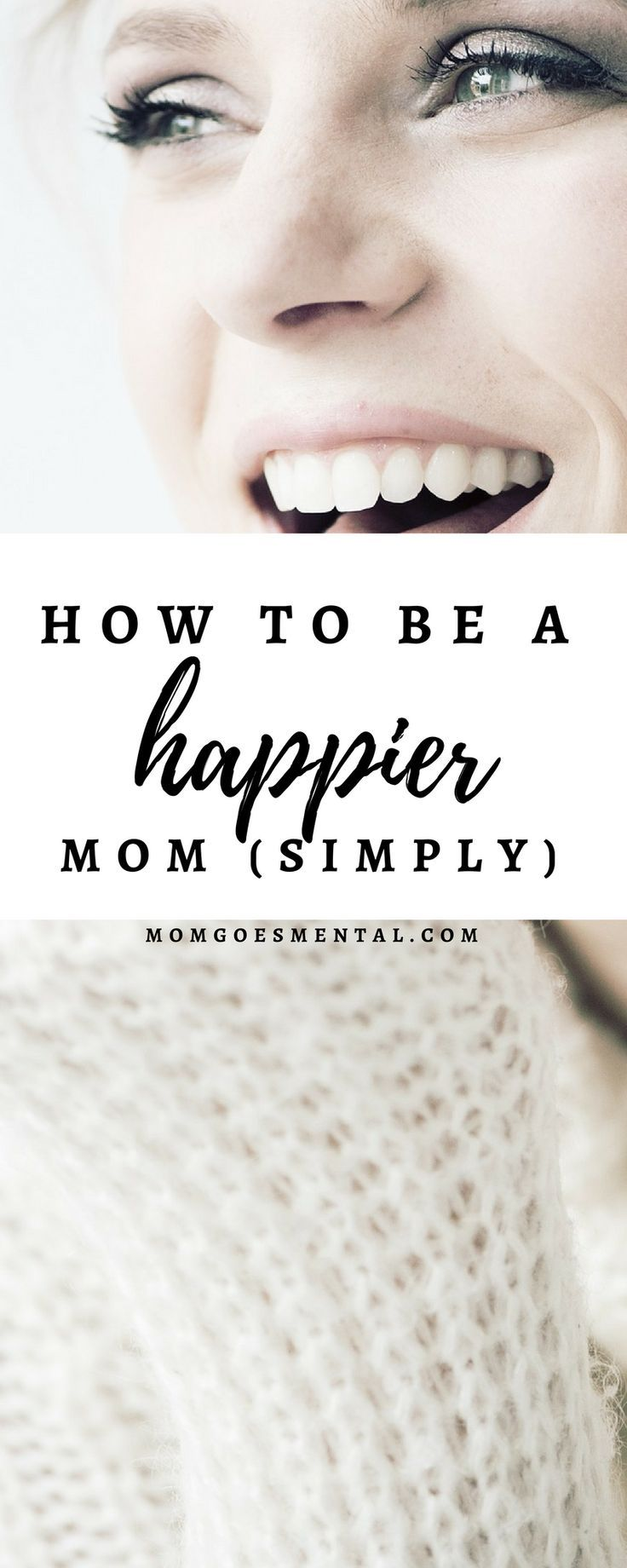 How to be a Happier Mom - Tips and tricks to making motherhood happy, organized, and healthy and loving your kids along the way! via @momgoesmental
