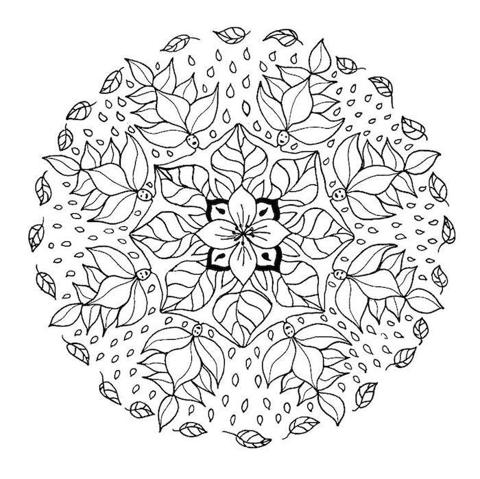 1001 Coole Mandalas Zum Ausdrucken Und Ausmalen Mandala Coloring Books Mandala Coloring Nature Mandala