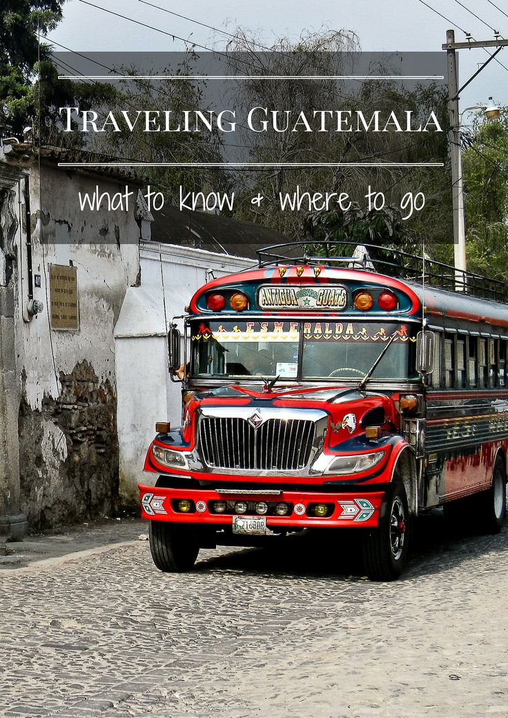 Guatemala travel tips, broken down by city with personal recommendations on hotels, travel experiences, and special tidbits like internet availability and veggie foods!