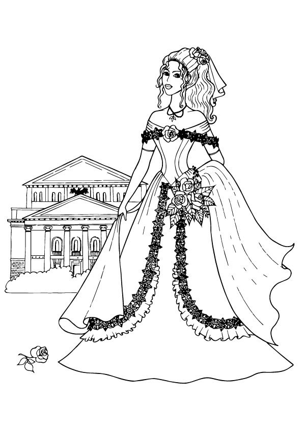 36 Beautiful Barbie Coloring Pages Your Kids Will Love