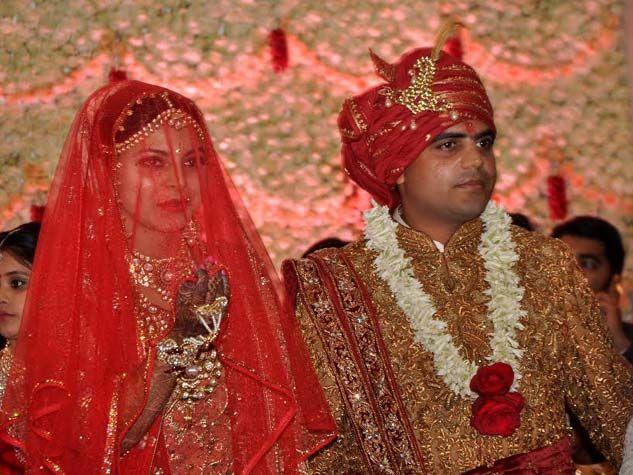 लालू प्रसाद यादव की बेटी की शाही शादी तस्वीरों में...