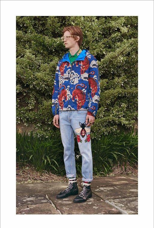 Gucci: первая круизная коллекция для мужчин
