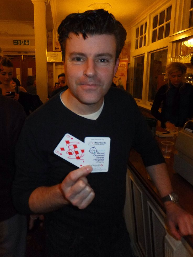StarCards supporter Ben Nealon