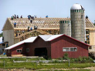 Amish Barns