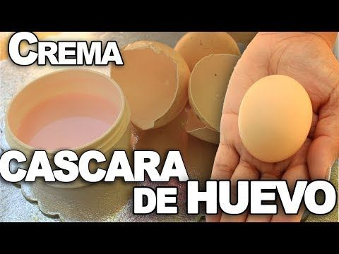 CREMA ANTI-ARRUGAS con CASCARA DE HUEVO de ACIDO HIALURONICO - YouTube