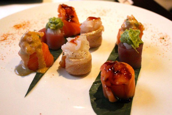 "Phenomenal ""Gunkan"" special at Me Geisha fusion sushi in Rome"
