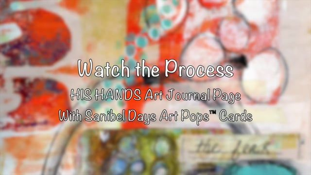 Watch the Process Art Journaling - In His Hands on Vimeo