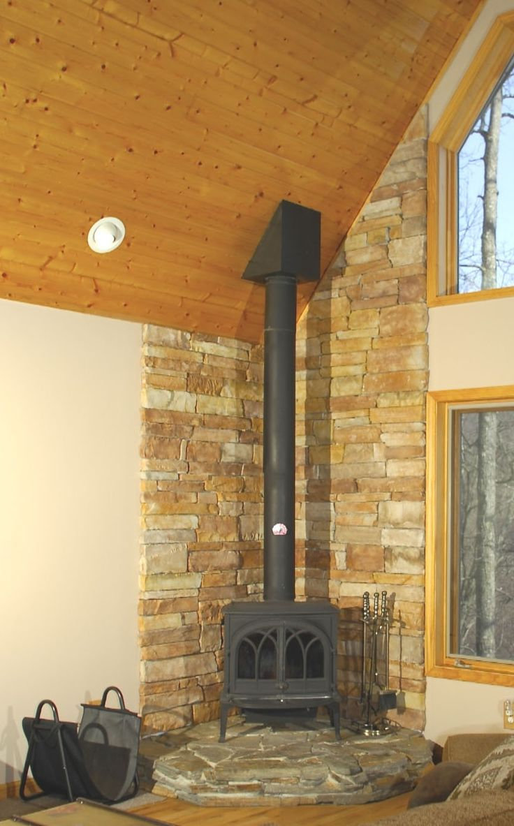 Hearth Pad Do It Yourself : Best ideas about corner wood stove on pinterest