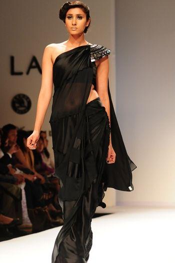 Anand Kabra designer saree