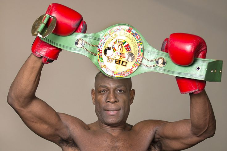 Britain's favourite boxer Frank Bruno is back to fight for the...