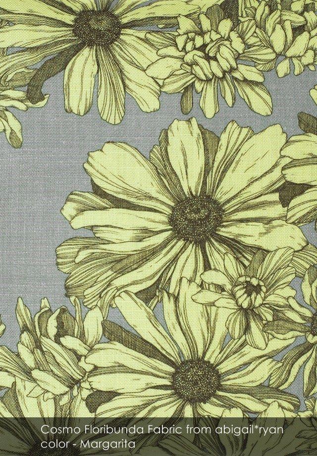 Cosmo Floribunda fabric from abigail*ryan in Margarita