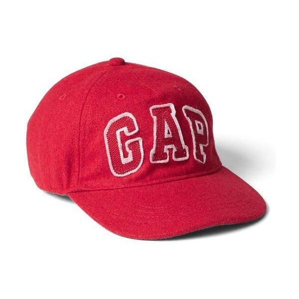 gap wool baseball cap red uk women hat featuring fashion accessories