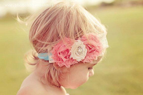 Baby girl HeadbandBaby HeadbandBaby by AvryCoutureCreations, $12.95