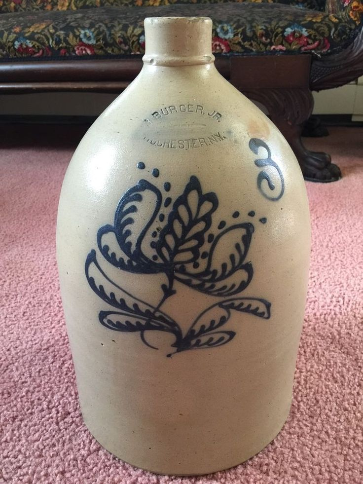 702 Best Antique Vintage Crocks Jugs Images On Pinterest