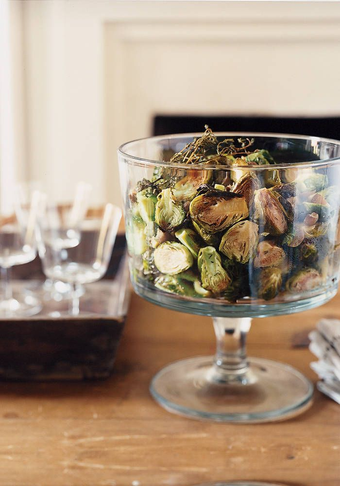 Roasted brussels sprouts and chestnuts | salads n things | Pinterest