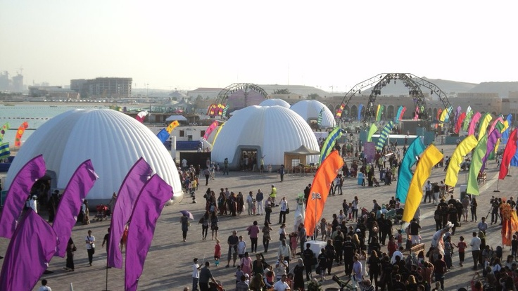 COMPLETE #FESTIVAL SITE   #Inflatable #Temporary #Structure #Events http://www.brandinteractivation.com/
