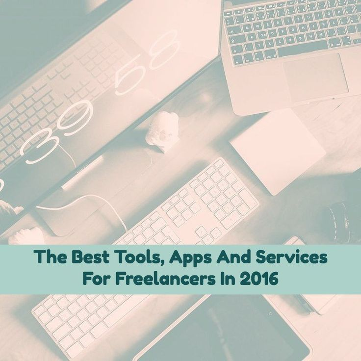My favourite freelancing tools of 2016 (so far)