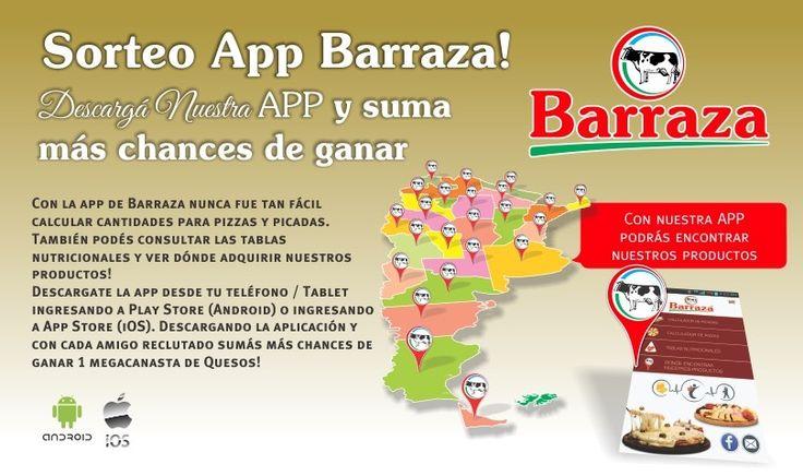 Registrate para el Sorteo App Barraza!