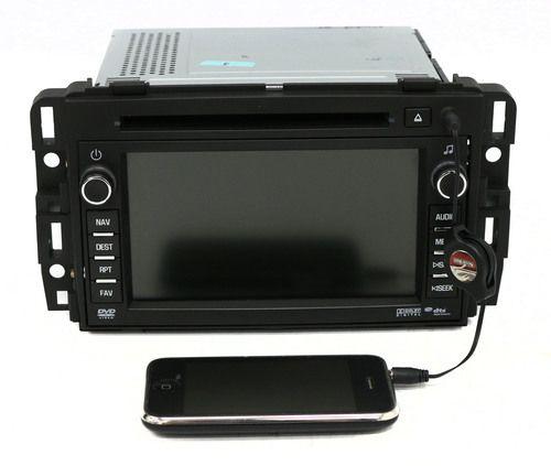 2011 GMC Acadia AM FM Radio CD DVD Player w Nav. Unlocked Part 22739334 Opt U4H