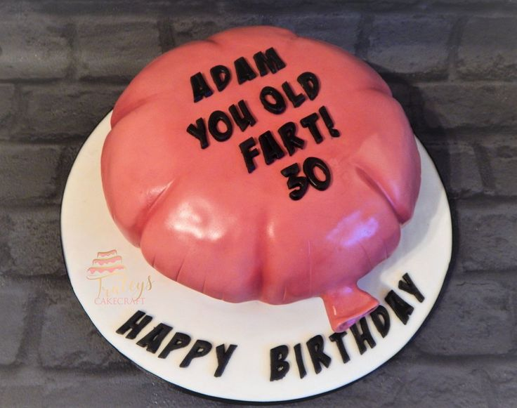 Old Fart, Whoopi cushion cake