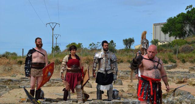 Santacara: IX Día de Cara - Lucha de Romanos (3)