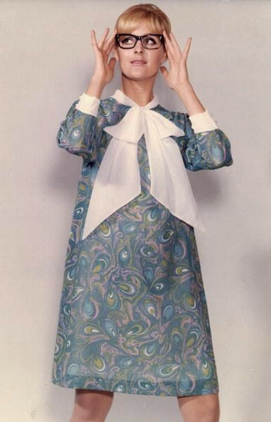English summer dress style me girl mod